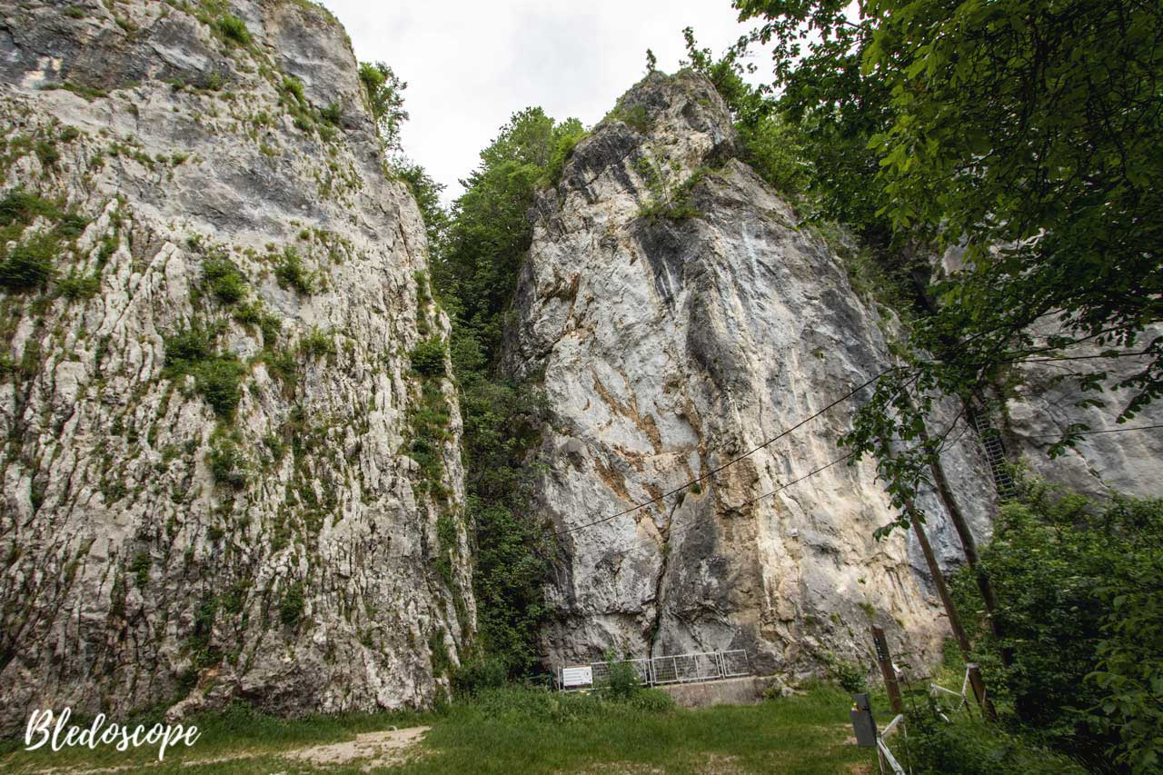 At the foot of Iglica Cliff