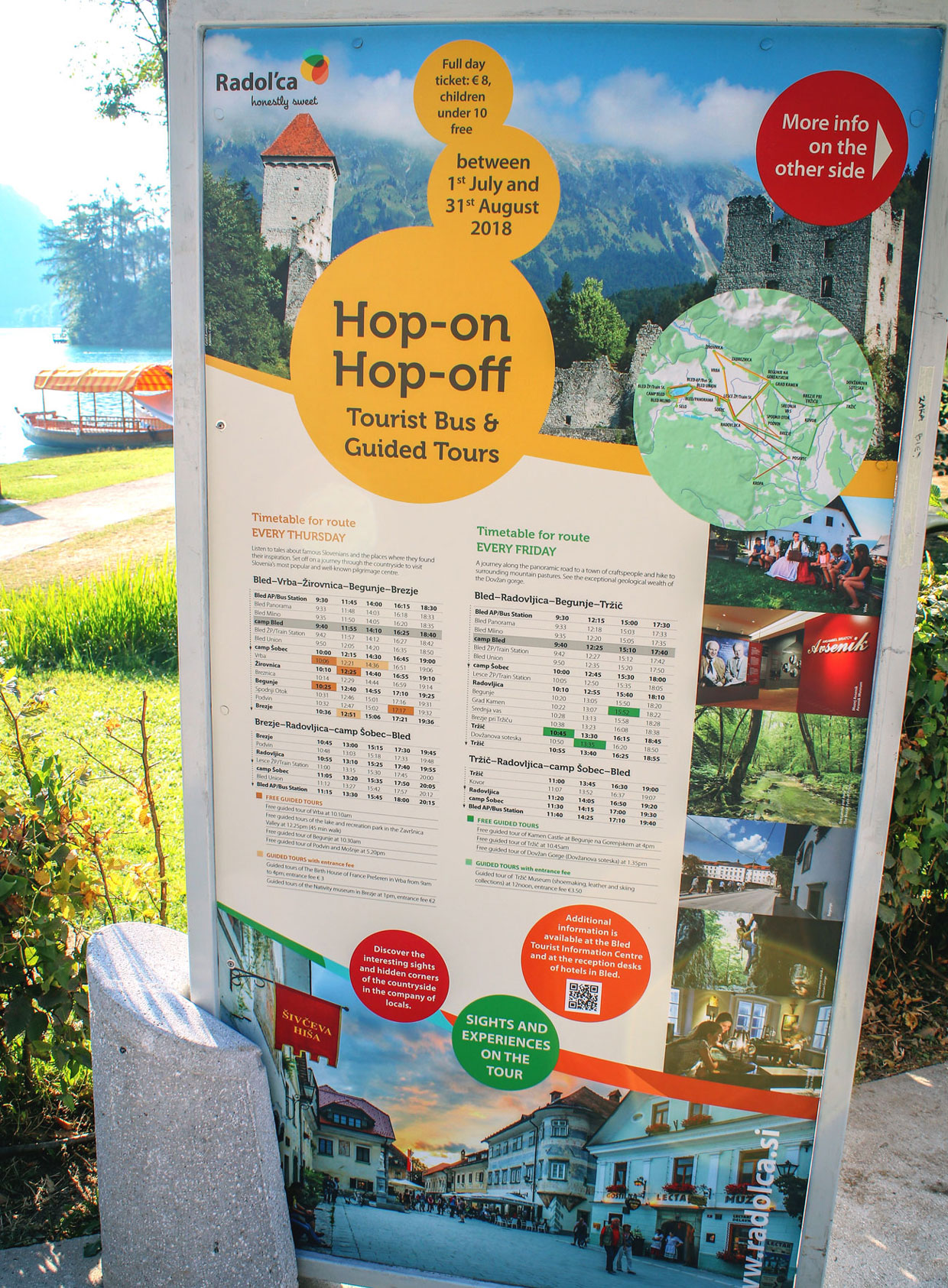 Useful information - Hop-on Hop-off