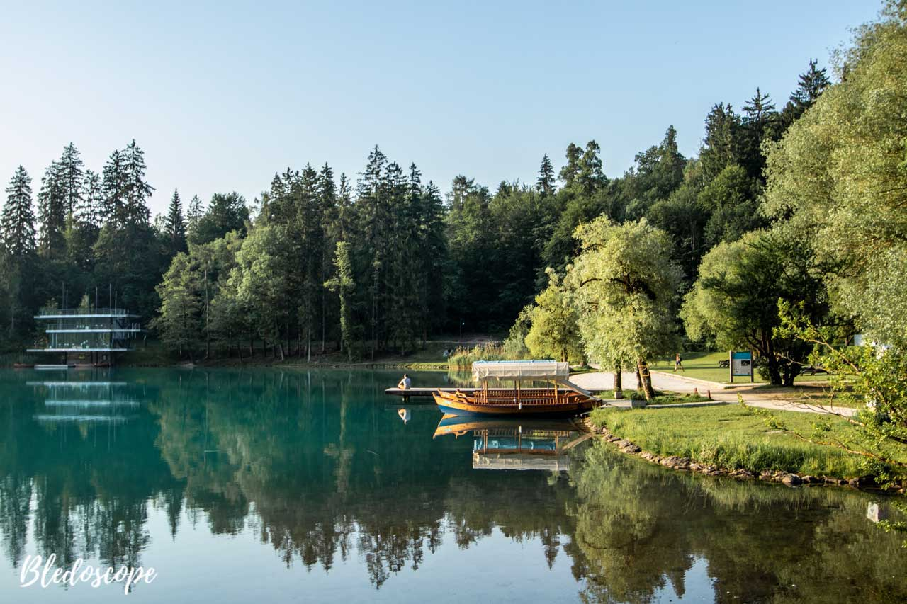 Velika Zaka at Lake Bled