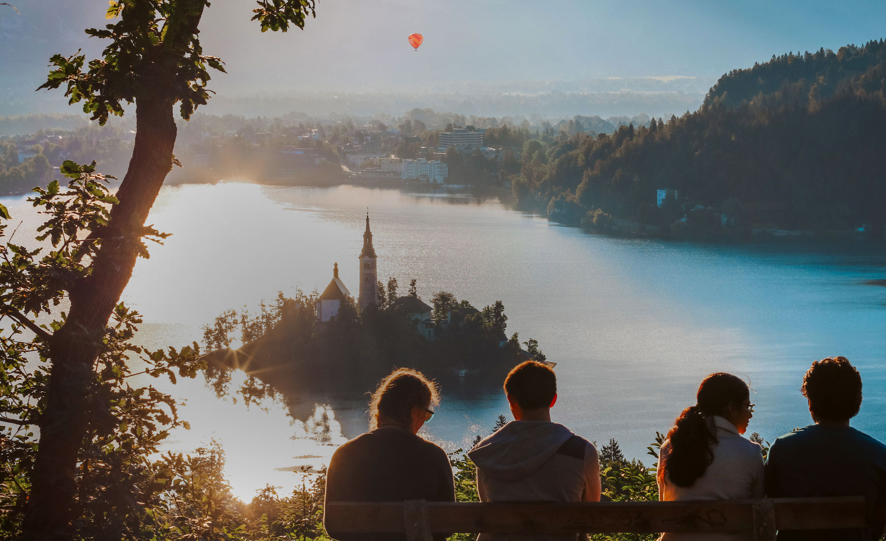 Guided walks at Lake Bled