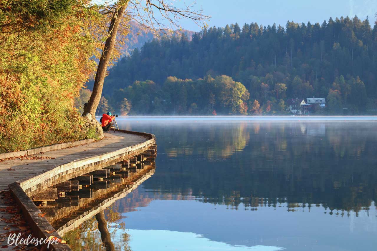 Lake Bled in autumn