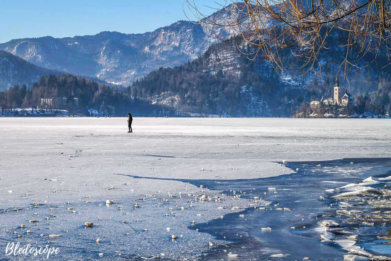 Things to do at Lake Bled in winter